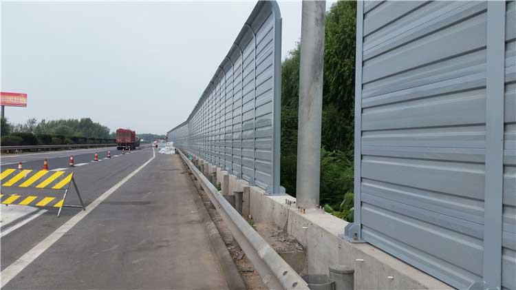 十二条隔音降噪高速公路声屏障须知
