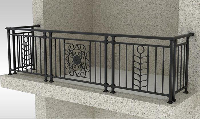 新型阳台护栏